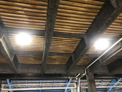LED水銀灯への取替等電気設備改修工事