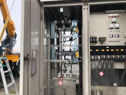 高圧受電設備の更新電気