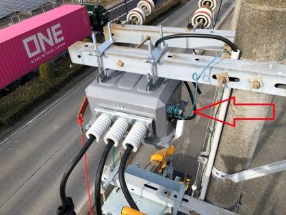 高圧受電設備の更新電気工事