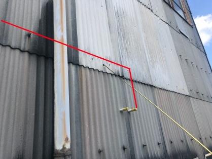 工場内の配線配管電気工事