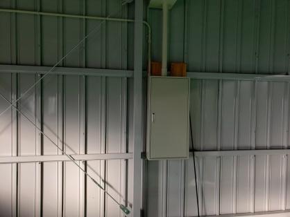 工場の電気設備新設電気工事