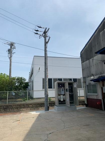工場のキュービクル新設電気工事